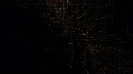 particles trail, abstract animation 動画素材
