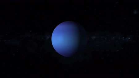 астрологический : Neptune is the eighth and farthest known planet from the Sun in the Solar System with stars of the milky way galaxy on background