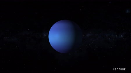 saturno : Neptune is the eighth and farthest known planet from the Sun in the Solar System with stars of the milky way galaxy on background