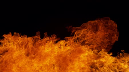 fireball : Fire explosion shooting with high speed camera at 1000fps, Stock Footage