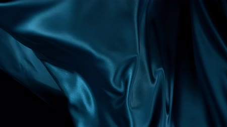 fluweel : Color wavy satin background in super slow motion