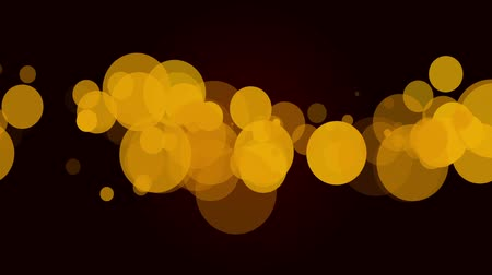 multimediální : High quality loopable bokeh background, usuful for plenty of multimedia applications. Yellow and black.