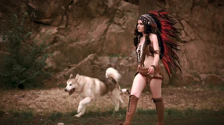 native american culture : walking with the wolf