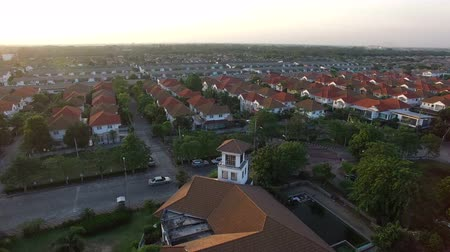 İngilizce : aerial view of home village
