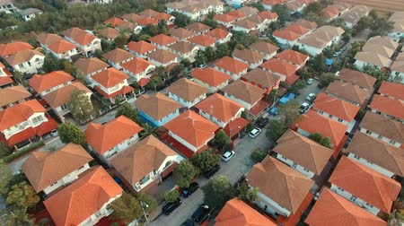 çatılar : aerial view of home residence in thailand