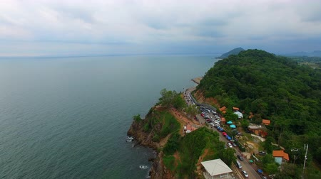 infra : road and sea side in chantaburi eastern of thailand important traveling destination