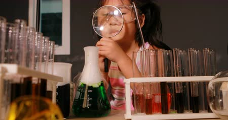 children in scienc laboratory room