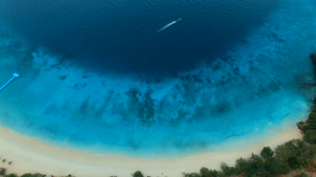 aerial view of nyang oo phee island andaman sea border thailand and myanmar 影像素材