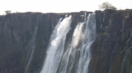 Виктория : View of Victoria Falls from Zambia side