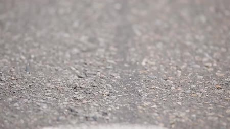 vetor : Asphalt road, background. Close up.