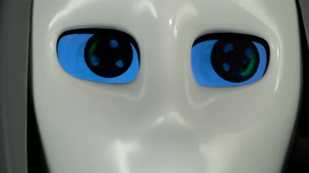 directional : Eyes of a robot close up
