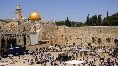 israelite : Western Wall in Jerusalem also known as Wailing Wall or Kotel in Jerusalem. The Western Wall is sacred place for all jewish an christians in the world. People come to pray and put notes to the wall.