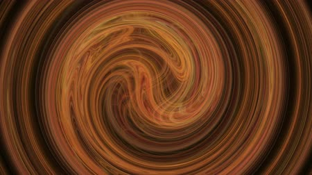 Amber spiral pattern curves abstract background seamless loop. Suitable for horizontal and vertical video format. Стоковые видеозаписи