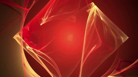 Red cube bright pattern abstract background seamless loop. Suitable for horizontal and vertical video format.