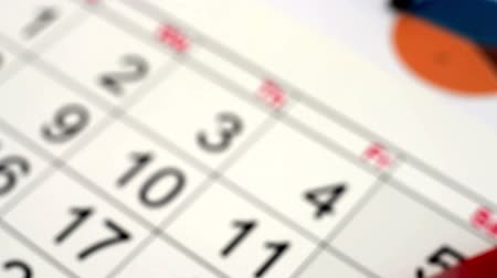 календарь : date circled on the calendar