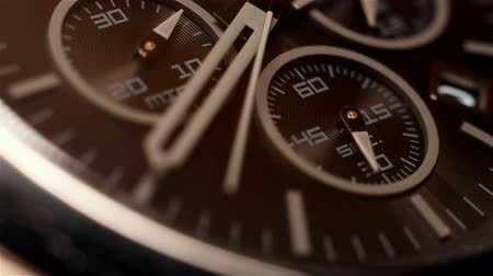 pm : Chronograph Watch With Additional Arrows. Extra Close Up