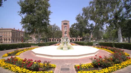 zegar : Los Angeles, JUN 4: Fountain and Bovard Aministration, Auditorium of the University of Southern California on JUN 4, 2017 at Los Angeles