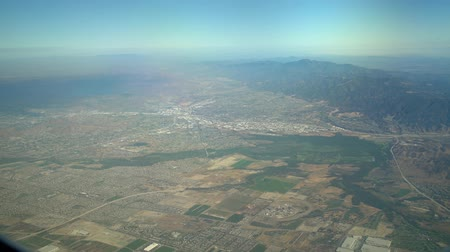 regional : Aerial view of San Bernardino Mountains, view from window seat in an airplane, California, U.S.A.