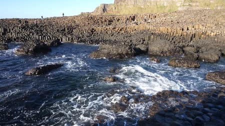 venkovský : Ireland, MAY 8: The famous ancient volcanic eruption - Giants Causeway on MAY 8, 2017 at County Antrim, Northern Ireland