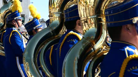 парад : Arcadia, NOV 19: The famous Arcadia Festival of Bands parade on NOV 19, 2017 at Arcadia, Los Angeles County, California, United States