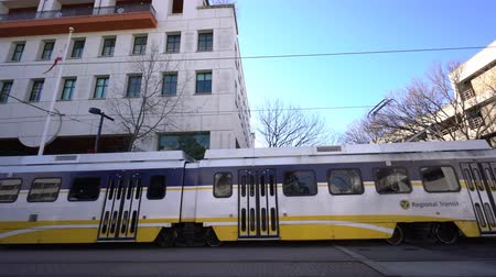 regional : Sacramento, FEB 20: Exterior view of the California State Museum and Regional Transit transportation on FEB 20, 2018 at Sacramento, California