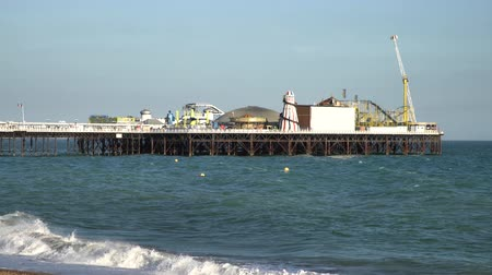 İngilizler : The beautiful Brighton Palace Pier at Brighton, United Kingdom