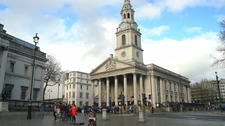 local de culto : London, APR 15: Exterior view of the St Martin-in-the-Fields church on APR 15, 2018 at London, United Kingdom