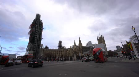 big ben : London, APR 15: The famous Big Ben is under construction on APR 15, 2018 at London, United Kingdom