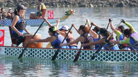 evenementen : Long Beach, 28 juli: Dragon Boat Festival op 28 juli 2018 in Long Beach, Californië