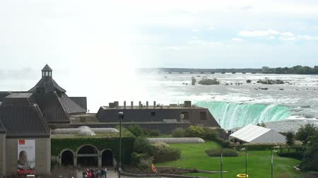 emerveillement : Niagara Falls, 30 septembre: Centre d'accueil de Table Rock, le 30 septembre 2018, à Niagara Falls, Canada