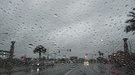 komor : Driving in the rainy at Los Angeles