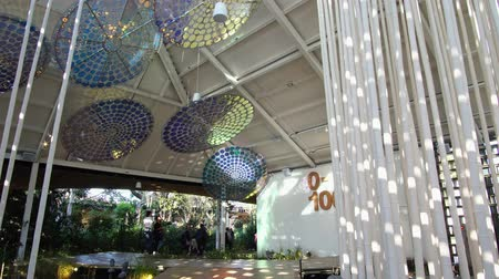 pavilion : Taichung, DEC 20: Interview of the Discovery Pavilion of Taichung World Flora Exposition on DEC 20, 2018 at Taichung