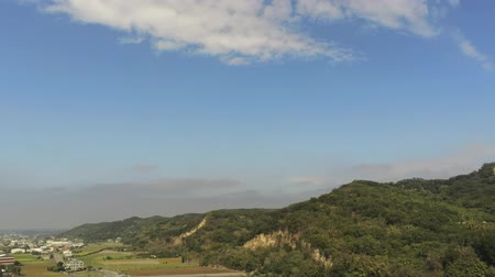 típico : Afternoon view of the Huoyanshan Nature Reserve area at Yuanli Township, Taiwan