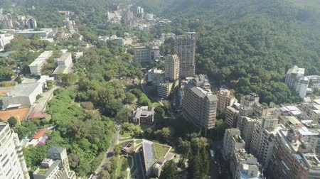 típico : Aerial view of the  cityscape of Xinbeitou area at Taipei, Taiwan