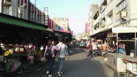 taiwan : Yuanli, DEC 27: Walking in the traditional market on DEC 27, 2018 at Yuanli, Taiwan