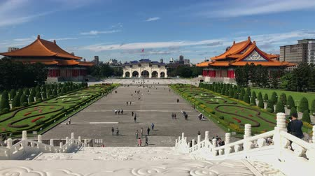 típico : Taipei, JAN 4: Archway, National Concert Hall of the Chiang Kai-shek Memorial Hall at JAN 4, 2019 at Taipei Stock Footage