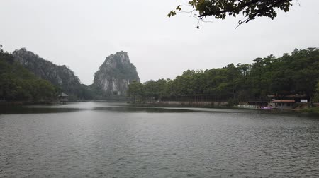 hét : Landscapes, mountains around Seven-star Crags Scenic Area at Zhaoqing, China