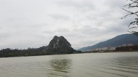 sedm : Landscapes, mountains around Seven-star Crags Scenic Area at Zhaoqing, China
