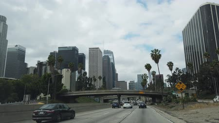 preso : Los Angeles, APR 1:  Driving in the downtown area on APR 1, 2019 at Los Angeles, California Vídeos