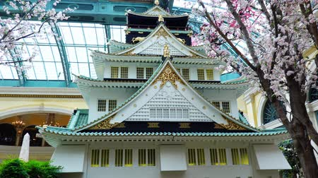 umělý : Las Vegas, APR 28: Special Japanese spring display in Bellagio Conservatory & Botanical Gardens on APR 28, 2019 at Las Vegas, Nevada