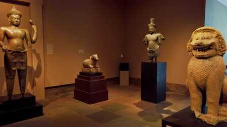 bouddha : Pasadena, AUG 10: Interior view of the Norton Simon Museum on AUG 10, 2019 at Pasadena, California