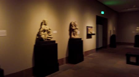 muzeum : Pasadena, AUG 10: Interior view of the Norton Simon Museum on AUG 10, 2019 at Pasadena, California