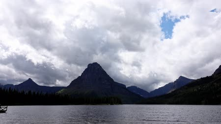 nps : Beautiful landscape of the Two Medicine Lake in Glacier National Park at Montana