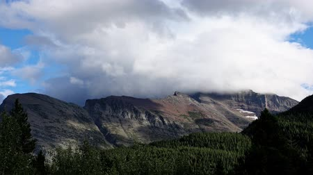 ledovec : Beautiful lanscape around the Many Glacier area of the famous Glacier National Park at Montana Dostupné videozáznamy