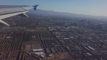 резидент : Aerial view of the famous cityscape of Las Vegas at Nevada