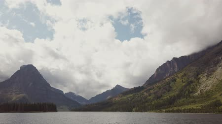 glacier national park : Beautiful landscape of the Two Medicine Lake in Glacier National Park at Montana