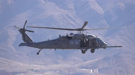авиашоу : Las Vegas, NOV 17:  Sikorsky HH-60G Pave Hawk helicopter flying over on NOV 17, 2019 at Las Vegas, Nevada