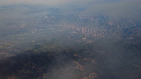 sierra nevada : Aerial view of the famous Yosemite Valley at California