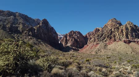 veludo : Black Velvet Canyon of the famous Red Rock Canyon National Conservation Area near Las Vegas, Nevada