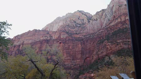 nps : Beautiful autumn landscape around Zion National Park at Utah
